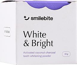 Parfumuri și produse cosmetice Pulbere de albire a dinților cu cărbune de cocos - Smilebite White & Brigh Coconut Charcoal Teeth Whitening Powder