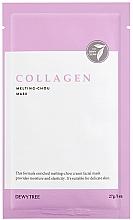 Parfumuri și produse cosmetice Mască de colagen pentru față - Dewytree Collagen Melting Chou Mask