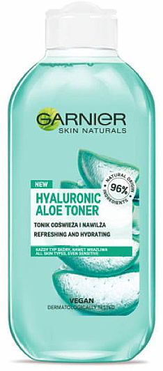 Tonic hidratant cu Aloe Vera - Garnier Skin Naturals Hyaluronic Aloe Toner