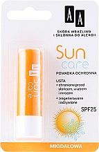 """Parfumuri și produse cosmetice Balsam de buze """"Miere"""" - AA Cosmetics Sun Care Protective Lipstick SPF 25"""
