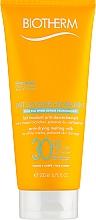 Parfumuri și produse cosmetice Lapte de protecție solară pentru față și corp SPF30 - Biotherm Lait Solaire Hydratant Anti-Drying Melting Milk
