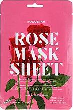 """Лифтинг маска-слайс для лица """"Роза"""" - Kocostar Slice Mask Sheet Rose — фото N1"""