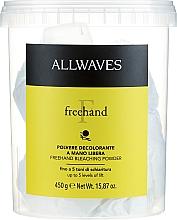 Parfumuri și produse cosmetice Pudră decolorantă - Allwaves Freehand Bleaching Powder