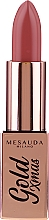 Духи, Парфюмерия, косметика Помада для губ - Mesauda Milano Gold Xmas Lipstick (тестер)