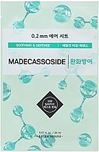 """Parfumuri și produse cosmetice Mască din țesătură pentru față """"Madekassosid"""" - Etude House Therapy Air Mask Madecassoside"""