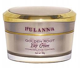 Parfumuri și produse cosmetice Cremă regenerantă de zi pentru față - Pulanna Golden Root Day Cream Hydro-Balance Control