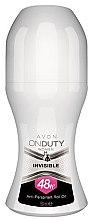 Parfumuri și produse cosmetice Deodorant - Avon On Duty Invisible 48H Anti-persrirant