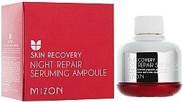 """Parfumuri și produse cosmetice Ser de noapte """"Regenerarea pielii"""" - Mizon Night Repair Seruming Ampoule"""