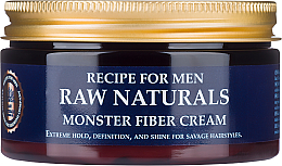 Духи, Парфюмерия, косметика Cremă pentru păr - Recipe For Men RAW Naturals Monster Fiber Cream