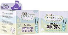 Parfumuri și produse cosmetice Детские салфетки для очистки десен и зубов - Jack N' Jill