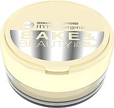 Parfumuri și produse cosmetice Pudră de față - Bell HypoAllergenic Bake & Beauty Loose Powder
