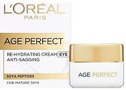 Parfumuri și produse cosmetice Cremă ideală pentru conturul ochilor - L'Oreal Paris Age Perfect Eye Cream