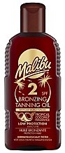 Parfumuri și produse cosmetice Ulei de corp cu efect bronzant - Malibu Bronzing Tanning Oil SPF 2