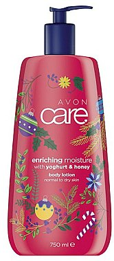 Loțiune de corp - Avon Care Enriching Moisture With Youghurt&Honey Body Lotion — Imagine N1
