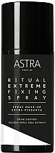Духи, Парфюмерия, косметика Фиксирующий спрей для макияжа - Astra Ritual Extreme Fixing Spray Cloud
