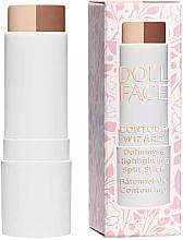 Parfumuri și produse cosmetice Corector-stick - Doll Face Contour Wizard Contour Split Sticks