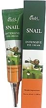 Parfumuri și produse cosmetice Cremă cu mucină de melc pentru ochi - Ekel Snail Intensive Eye Cream