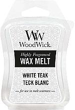 Parfumuri și produse cosmetice Ceară aromată - WoodWick Wax Melt White Teak