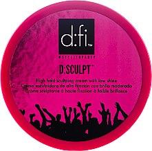 Parfumuri și produse cosmetice Ceară cremă pentru păr - D:fi d:sculpt High Hold Low Shine Hair Sculptor