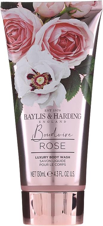 Set - Baylis & Harding Boudoire Rose Set (sh/gel/130ml + sh/gel/300ml + lot/130ml + crystals/100g + bath/f/300ml + soap/100g) — Imagine N5