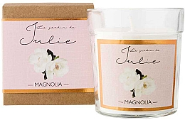 """Parfumuri și produse cosmetice Lumânare parfumată """"Magnolia"""" - Ambientair Le Jardin de Julie Magnolia"""