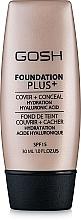 Parfumuri și produse cosmetice Fond de ten - Gosh Foundation Plus SPF15