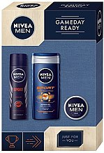 Parfumuri și produse cosmetice Set - Nivea For Men Sport (deo/150ml + sh/gel/250ml + cr/30ml)
