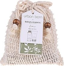Parfumuri și produse cosmetice Set - Baylis & Harding Urban Barn Lime, Basil & Mint (b/cleanser/100 ml + b/cr/50ml)