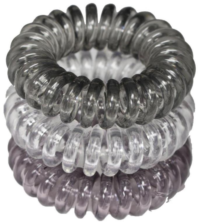 Elastic de păr, 3,5 cm - Ronney Professional S10 MET
