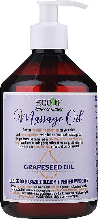 Ulei de masaj - Eco U Grapeseed Massage Oil