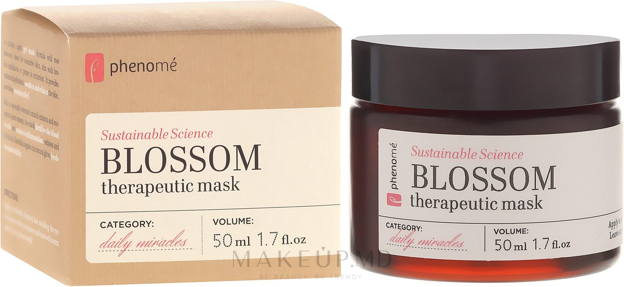 Mască de față - Phenome Blossom Therapeutic Mask — Imagine 50 ml