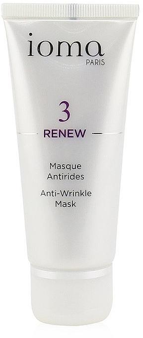 Mască anti-îmbătrânire - Ioma 3 Renew Anti-Wrinkle Mask — Imagine N1