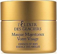 Parfumuri și produse cosmetice Ser facial - Valmont L'elixir Des Glaciers Masque Majestueux Votre Visage