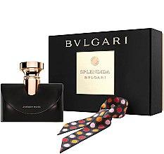 Parfumuri și produse cosmetice Bvlgari Splendida Jasmin Noir - Set (edp/100ml + scarves)