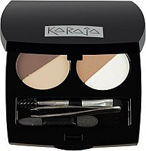 Parfumuri și produse cosmetice Set profesional de farduri pentru ochi și sprâncene - Karaja Eye & Brow Basic