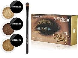 Parfumuri și produse cosmetice Set pentru machiajul ochilor - Bellapierre Eye Slay Kit Gilded