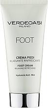 Parfumuri și produse cosmetice Cremă relaxantă și răcoritoare pentru picioare - Verdeoasi Foot Cream Relaxing Refreshing