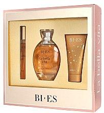 Parfumuri și produse cosmetice Bi-Es La Bella Vita - Set (edp/100ml + edp/12ml + sh/gel/50ml)