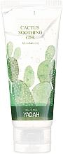 Parfumuri și produse cosmetice Gel hidratant cu extract de cactus pentru față - Yadah Cactus Soothing Gel