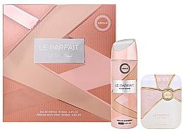 Parfumuri și produse cosmetice Armaf Le Parfait Pour Femme - Set (edp/100ml + deo/spray/200ml)