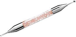 Parfumuri și produse cosmetice Instrument de puncție pentru manichiură, 01 roz - Elisium