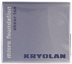 Parfumuri și produse cosmetice Fond de ten rezistent la apă - Kryolan HD Micro Foundation Sheer Tan