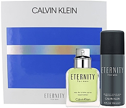 Духи, Парфюмерия, косметика Calvin Klein Eternity For Men - Set (edt/100ml + deo/150ml)