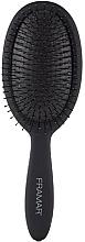 Parfumuri și produse cosmetice Perie detangling pentru păr, neagră - Framar Detangle Brush Black To The Future
