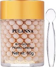 Parfumuri și produse cosmetice Cremă cu perle pentru față, cu bio-aur - Pulanna Bio-Gold Pearl Cream