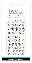 Parfumuri și produse cosmetice Nail Art Stickers, 3713 - Neess Diamondneess