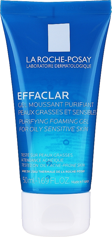 Gel spumant purifiant pentru piele grasă și acneică - La Roche-Posay Effaclar Gel Moussant Purifiant