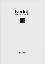 Parfumuri și produse cosmetice Korloff Paris Korloff In White - Set (edt/88ml + sh/gel/150ml)