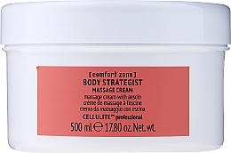 Parfumuri și produse cosmetice Cremă anticelulitică cu escină pentru masaj corporal - Comfort Zone Body Strategist Massage Cream