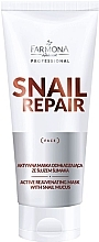 Parfumuri și produse cosmetice Mască anti-îmbătrânire cu extract de mucus melc - Farmona Professional Snail Repair Active Rejuvenating Mask With Snail Mucus